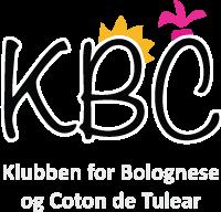 Klubben for Bolognese og Coton de Tulear Logo
